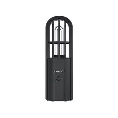 Přenosná UV lampa, czarna